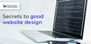 secrets to good website design code